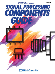 2010 IF RF Microwave Signal Processing Components Guide