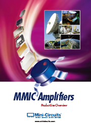 MMIC Amplifiers: Product Line Overview